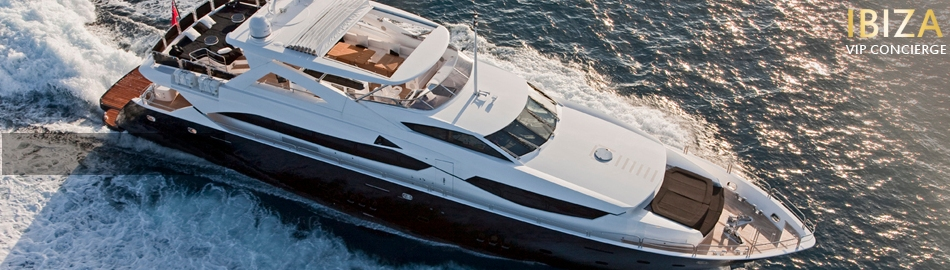 Ibiza VIP luxury yachts featured